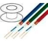 Kabel mikrofonní kulatý licna OFC 2x0,25mm2 PVC 100m