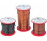 Drát pro vinutí s jednou vrstvou laku 1,1mm 0,25kg -65-200°C