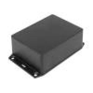 Kryt s úchyty X:82mm Y:110mm Z:43mm ABS černá IP54 Řada:1591