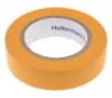 Knot izolační oranžová PVC 15mm L:10m