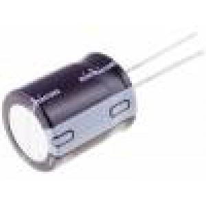 Kondenzátor elektrolytický THT 47uF 160V Ø10x20mm ±20% 8000h