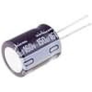 Kondenzátor elektrolytický THT 82uF 160V Ø12,5x20mm ±20%