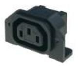 Konektor IEC 60320,napájecí AC C13 (F) zásuvka 10A