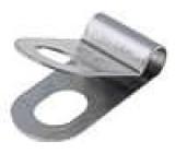 Úchytky nerezová ocel Použití pro stíněné vodiče