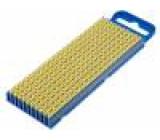 Kabelové značky pro kabely a vodiče Symbol štítku:4 polyamid