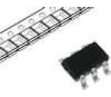 IRLTS2242TRPBF Tranzistor P-MOSFET unipolární -20V -6,9A 2W TSOP6