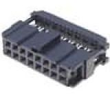 Zástrčka IDC zásuvka PIN:16 IDC na plochý kabel 1,27mm