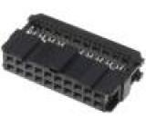 Zástrčka IDC zásuvka PIN:20 IDC na plochý kabel 1,27mm