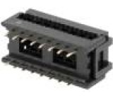 Zástrčka IDC vidlice PIN:16 na plochý kabel 1,27mm