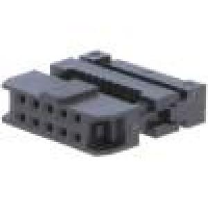 Zástrčka IDC zásuvka PIN:10 na plochý kabel 1mm
