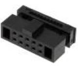 Zástrčka IDC zásuvka PIN:10 IDC na plochý kabel 0,635mm