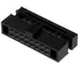 Zástrčka IDC zásuvka PIN:16 IDC na plochý kabel 0,635mm