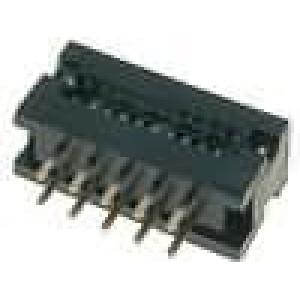 Přechodový IDC PIN:10 IDC, THT na plochý kabel 1,27mm 1A 30V