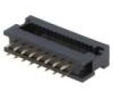 Přechodový IDC PIN:16 IDC, THT na plochý kabel 1,27mm 1A 30V
