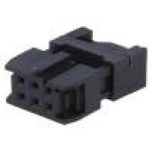 Zástrčka IDC zásuvka PIN:6 IDC na plochý kabel 1,27mm
