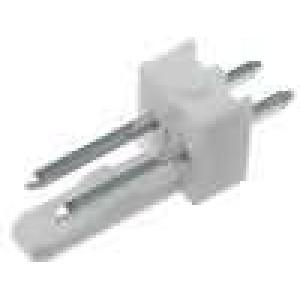 Zásuvka kabel-pl.spoj KK 254 vidlice 2PIN přímý THT 4A 250V