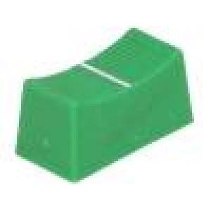 Knoflík - jezdec barva   23x11x11mm Mat plast