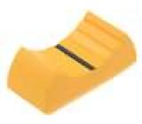 Knoflík - jezdec barva   24x11x10mm Mat plast