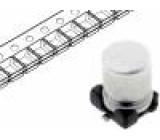 Kondenzátor elektrolytický SMD 2,2uF 50V Ø4x5,5mm ±20% 2000h