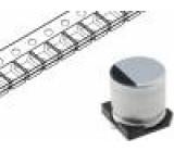 Kondenzátor elektrolytický SMD 100uF 50V Ø8x10mm ±20% 2000h