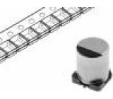 Kondenzátor elektrolytický SMD 10uF 16V Ø4x5,8mm