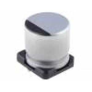 Kondenzátor elektrolytický s nízkou impedancí SMD 100uF 50V
