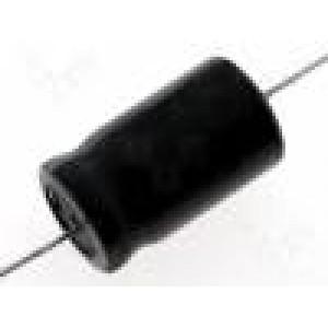 Kondenzátor elektrolytický bipolární THT 33uF 100V Ø12x30mm
