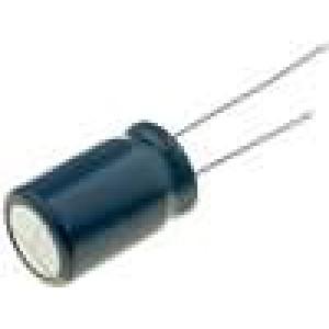 Kondenzátor elektrolytický s nízkou impedancí THT 470uF 25V
