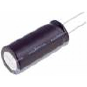 Kondenzátor elektrolytický THT 18uF 100V Ø6,3x15mm ±20% 0,8Ω