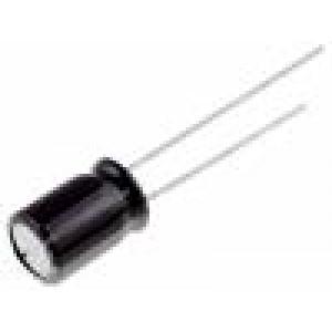 Kondenzátor elektrolytický s nízkou impedancí THT 10uF 16V