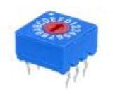 Kódový přepínač HEX/BCD Polohy:16