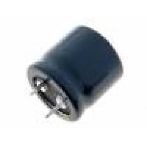 Kondenzátor elektrolytický THT 100uF 400V Ø25x25mm ±20%