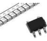 MCP4017T-103ELT Integrovaný obvod rheostat 10kΩ I2C 7bit SC70-6 SMD Kanály:1