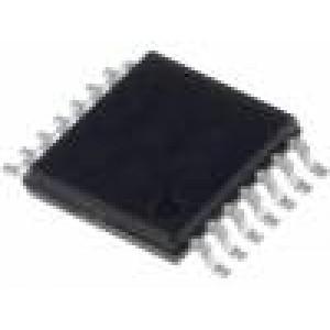 MCP609-I/ST Operační zesilovač 155kHz 2,5-5,5VDC Kanály:4 TSSOP14