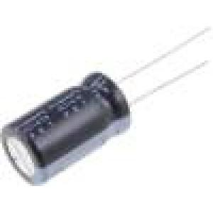 Kondenzátor elektrolytický THT 10uF 450V Ø12x20mm Rozteč:5mm
