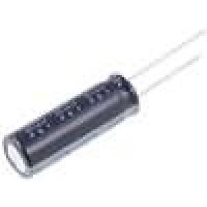 Kondenzátor elektrolytický THT 27uF 400V Ø10x30mm ±20% 2000h