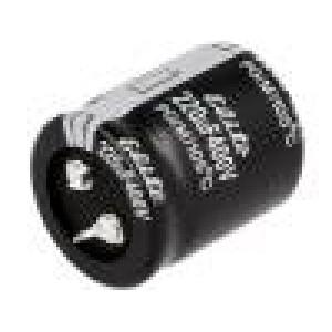 Kondenzátor elektrolytický SNAP-IN 220uF 400V Ø30x35mm ±20%