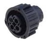 Průmyslový konektor kulatý 2.5mm System zástrčka zásuvka 3PIN na kabel