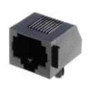 Konektor RJ45 zásuvka 8 PIN Kat:3 nízkoprofilové THT 12,7mm