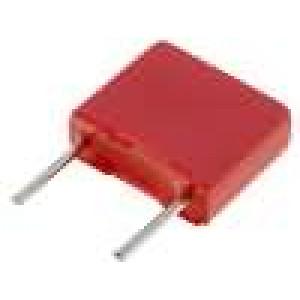 Kondenzátor polyesterový 100nF 63VAC 100VDC Rozteč:5mm ±5%