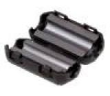 Ferit dvoudílný na kulatý kabel Ø:5mm 60Ω A:13mm B:11,8mm