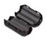 Ferit dvoudílný na kulatý kabel Ø:9mm 80Ω A:19,5mm B:18mm