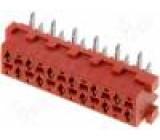 Konektor Micro-MaTch zásuvka PIN:12 svislý SMT