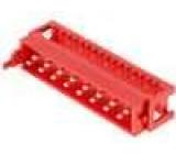 Konektor Micro-MaTch zástrčka vidlice 16 PIN IDC 1,27mm 1,5A