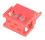 Konektor Micro-MaTch zástrčka vidlice 4 PIN IDC 1,27mm 1,5A