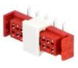 Konektor Micro-MaTch zásuvka 10 PINsvislý SMT 1A