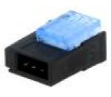 Konektor kabel-kabel/plošný spoj Mini-Clamp zástrčka vidlice