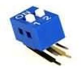 Přepínač DIP-SWITCH Počet sekcí:2 ON-OFF 0,05A/12VDC