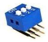 Přepínač DIP-SWITCH Počet sekcí:3 ON-OFF 0,05A/12VDC