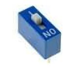 Přepínač DIP-SWITCH Počet sekcí:1 ON-OFF 0,1A/24VDC -25-70°C